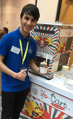 Frozen Yoghurt, Swansea University Corporate Events